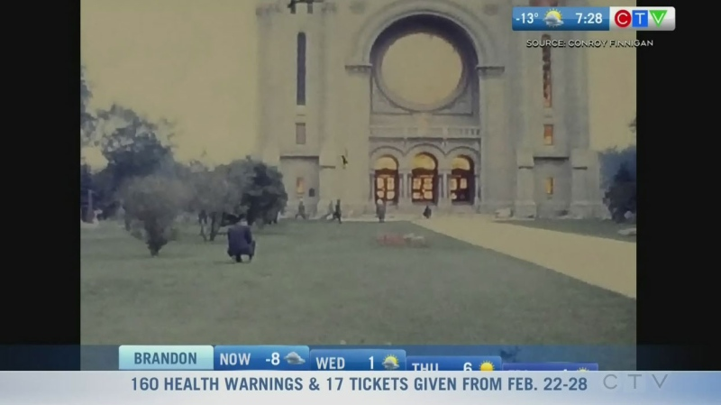 Home video of St Boniface Cathedral fire unearthed