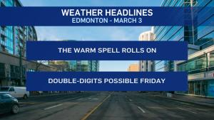 Edmonton weather March 3 2021