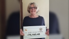Elsie Vertulia won Ontario Lottery and Gaming Corporation's Poker Lotto All In jackpot on Jan. 25 worth $75,165.40. (Supplied)