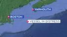 Crew abandons fishing vessel off coast of N.S.