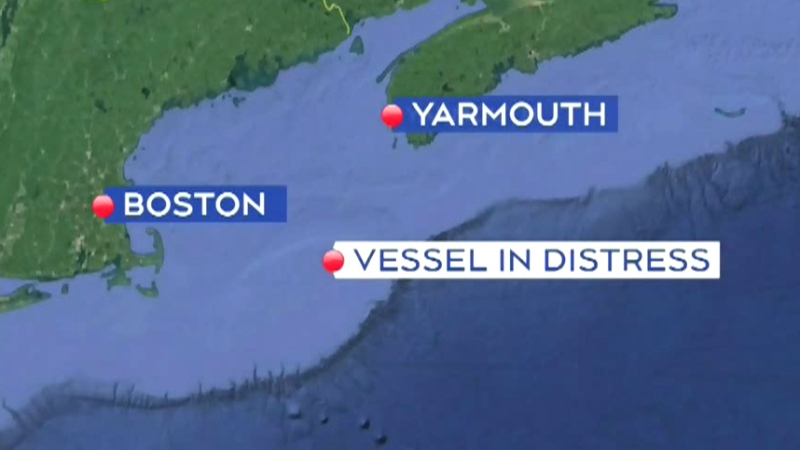 Crew abandons fishing vessel off coast of N.S.