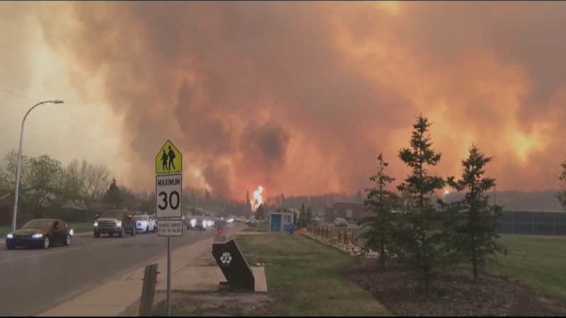 Fort McMurray, wildfire
