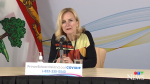 P.E.I. chief public health officer Dr. Heather Morrison provides an update on COVID-19 in the province on March 3, 2021.
