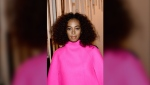 """Singer Solange Knowles took to Instagram and revealed that she was """"literally fighting for my life"""" while making """"When I Get Home."""" (Ben Gabbe/Getty Images North America/Getty Images via CNN)"""