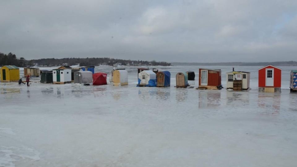 New Brunswick ice fishing