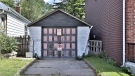 This garage, located at 951B Greenwood Avenue, hit the market for $729,000. (Reatlor.ca)