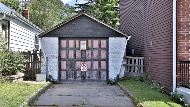Dilapidated garage hits the Toronto housing market for $729,000