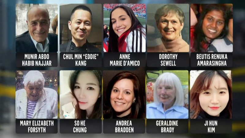 Toronto van attack victims