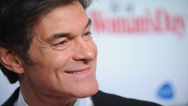 According to the Port Authority Police, Dr. Oz, along with Port Authority police, performed CPR on a 60-year-old man at Newark Liberty International Airport in New Jersey. (Brad Barket/Getty Images)