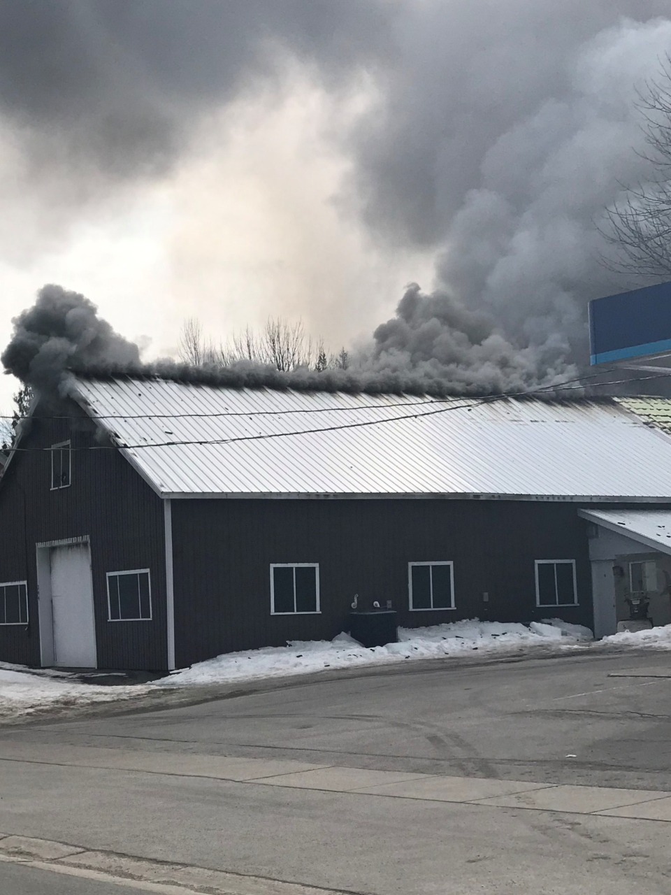 Meaford Ont. structure fire