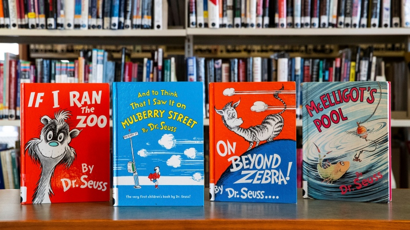 Canadian libraries reassess Dr. Seuss books pulled from publication for racist images