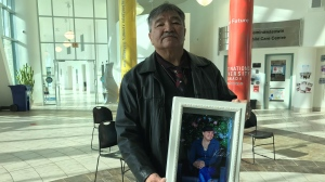 Roland Desjarlais's daughter, Marilyn Gordon, was 30 years-old when she died of a fatal drug overdose. She was the mother of four young children.(Cally Stephanow / CTV News Regina)