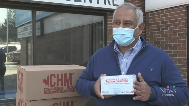 Generous mask donation helps families in need