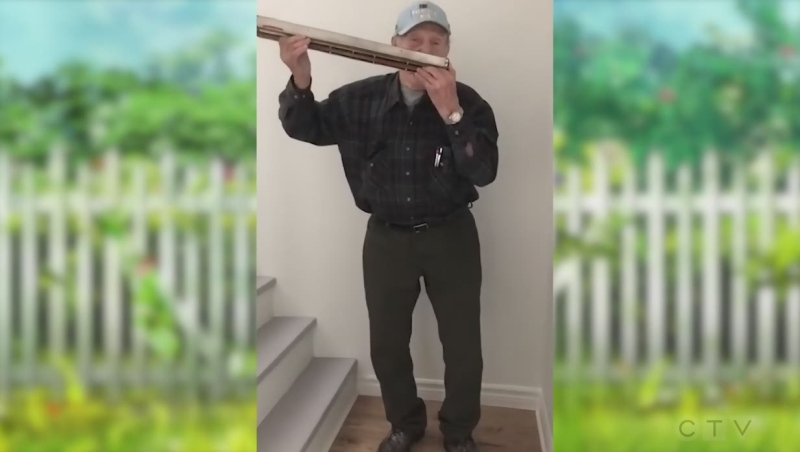Watch this Sudbury senior on the harmonica