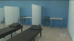 Vaccination clinic prepares to open