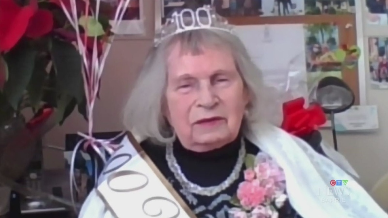 LTC resident celebrates her 100th birthday