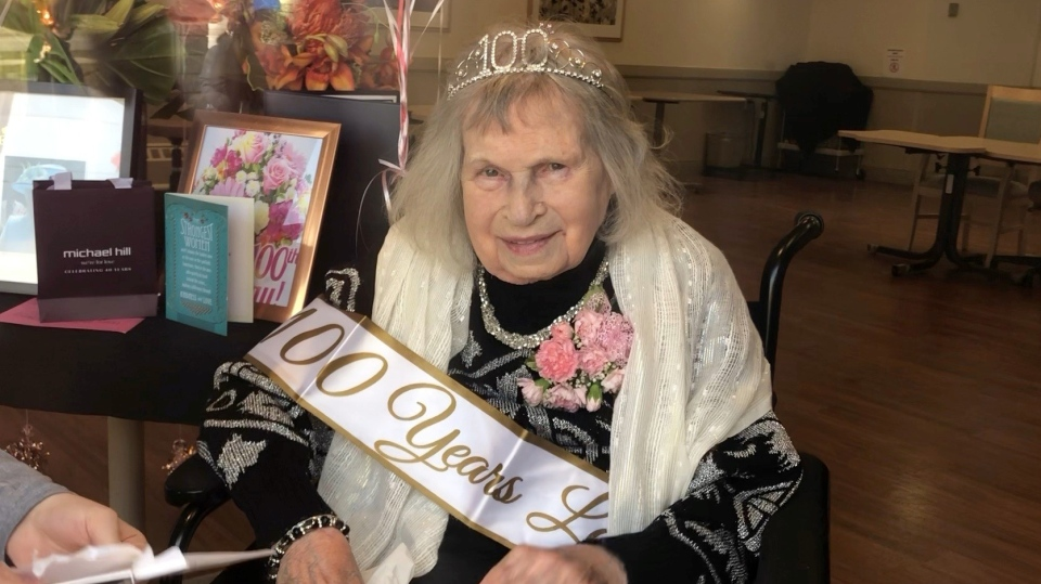 Clair Pratt celebrates 100 years