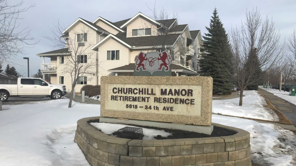 Churchill Manor. (CTV News Edmonton)