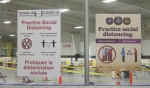 Shkagamik-kwe Health Centre will offer 2,400 COVID-19 vaccines to Indigenous people aged 55 and older on Friday and Saturday. (Jaime McKee/CTV News)