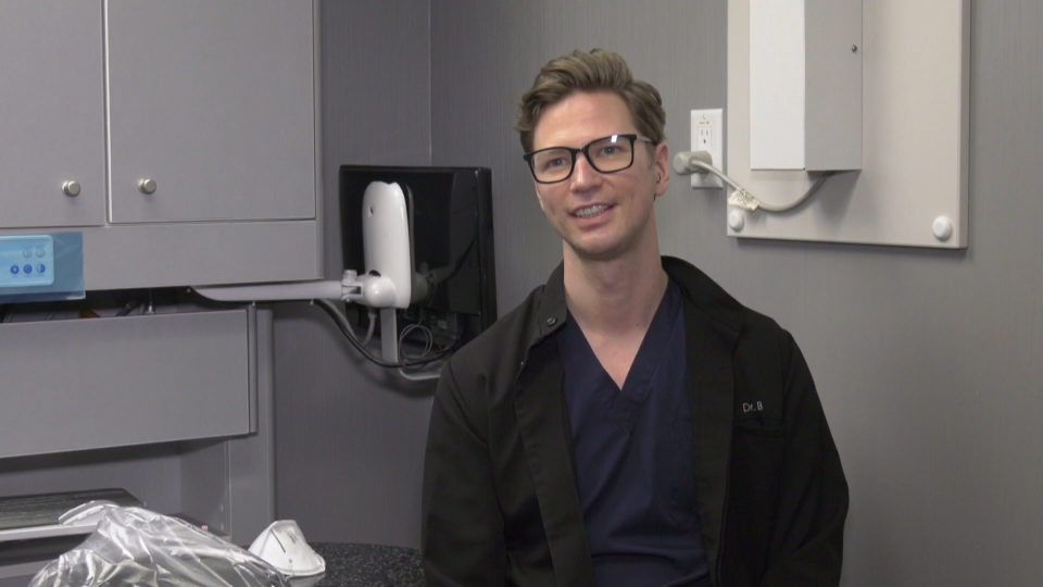 Dr. Ryan Bernhauser, a Vancouver dentist, is one of the many health-care professionals who will be helping administer COVID-19 vaccines this year.