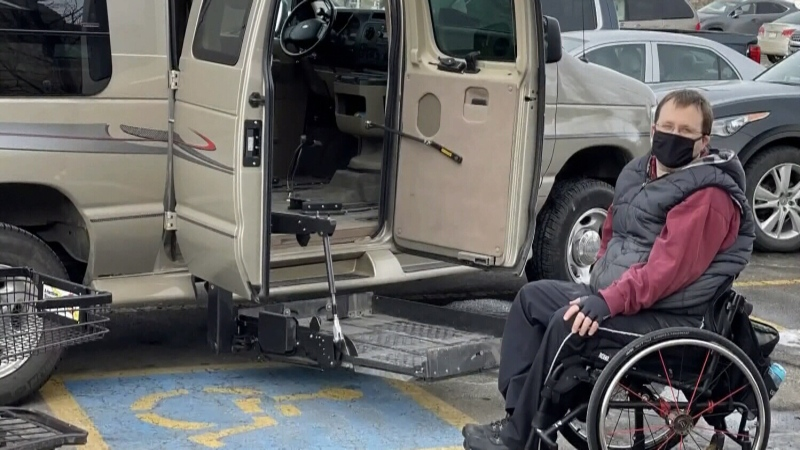 Disabled man harassed while parking