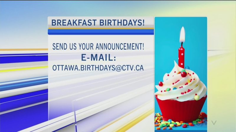 CTV Morning Live Birthdays Mar 04