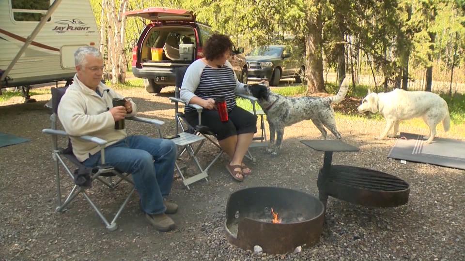 Camping, Alberta, Alberta Parks