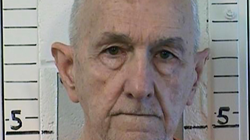 "This photo provided by the California Department of Correction and Rehabilitation shows inmate Roger Reece Kibbe, 81. Kibbe a serial killer known as the ""I-5 Strangler"" in the 1970s and 1980s has been killed in the prison where he was serving multiple life sentences, state correctional officials said Monday, March 1, 2021. Kibbe was unresponsive in his cell at Mule Creek State Prison southeast of Sacramento shortly after midnight Sunday. (CDCR via AP)"