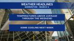 Edmonton weather March 4