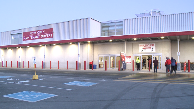 Costco's new Canadian Business Centre on Cyrville Road in Ottawa. (Jim O'Grady/CTV News Ottawa)