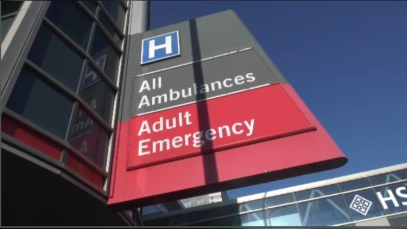 The fire sprinkler system caused a disruption at the HSC Adult Emergency Department on March, 4, 2021.
