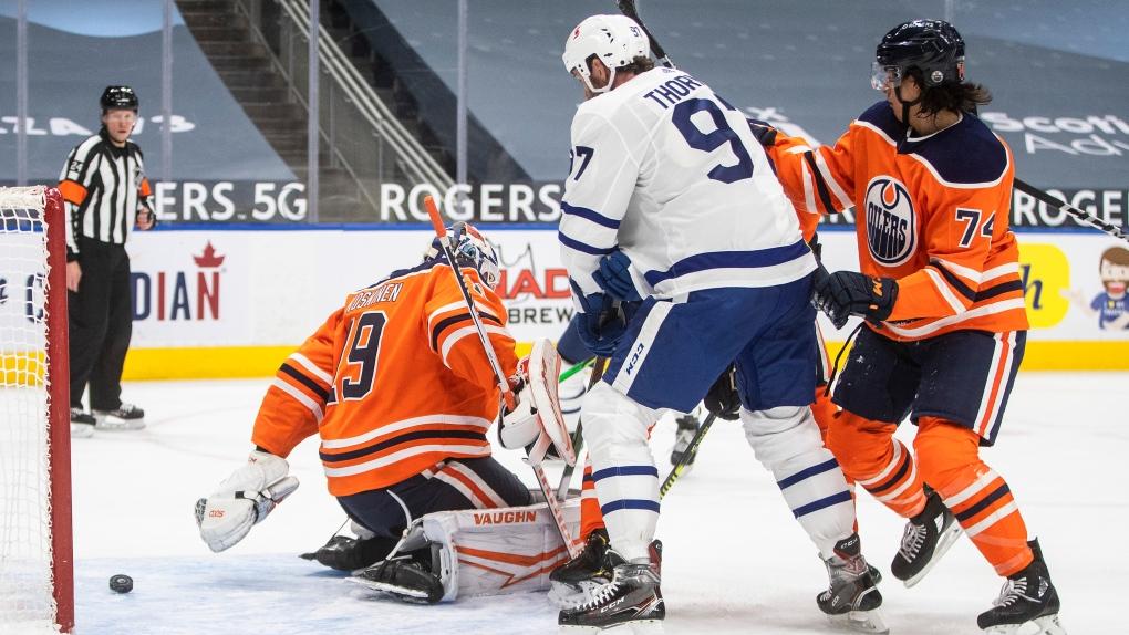 Oilers, Mikko Koskinen, Maple Leafs, Joe Thornton