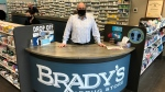 Tim Brady, owner of Brady's Drug Stores in Essex County, Ont., on Thursday, March 4, 2021. (Michelle Maluske / CTV Windsor)