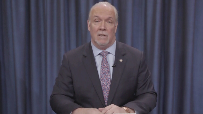 Horgan: 'Health-care system is at risk'