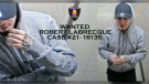 Surveillance photo of Robert Labrecque. (courtesy Windsor Police Service)