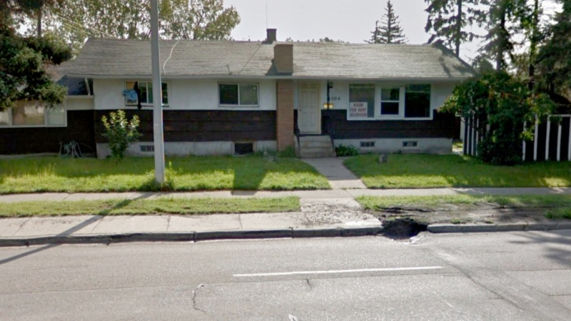 A drug house in the 5500 block of Centre Street N. has been shuttered for 90 days by Alberta Sheriffs. (Google Maps)
