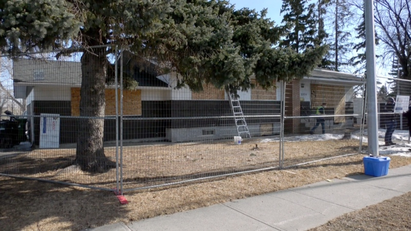 Alberta Sheriffs closed a Calgary drug house for 90 days.