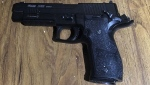 Police recovered a pellet gun from the scene of a fatal shooting involving officers at a Calgary hotel. (Supplied/ASIRT)