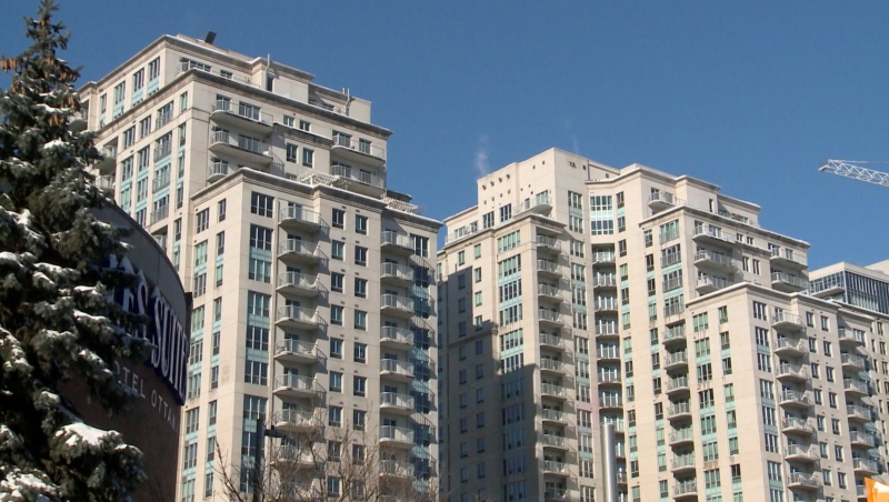 Ottawa Realtors say vacancies are more prevalent in the downtown core and neighbourhoods near universities. (Colton Praill/CTV News Ottawa)