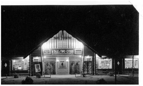 PARK THEATRE IN 1937, CLEAR LAKE MAN. (SOURCE: PARK THEATRE)