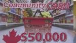 Contest winner benefits local food bank