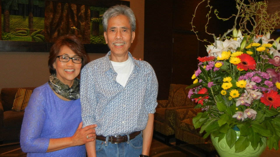 Family members have identified the victim of Tuesday night's crash in North Vancouver as Marcelina Perdido Agulay, left, a community organizer who fought to protect the rights of immigrants and migrant workers. (Facebook)