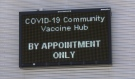 As the finishing touches are placed on Sault Ste Marie's COVID-19 community vaccination hub, Sault Area Hospital is assuring the public the COVID-19 Assessment Centre on Drive In Road is still open. (Mike McDonald/CTV News)