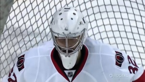 Former Calgary Hitmen goalie Chris Driedger is enjoying a breakthrough season with the Florida Panthers, after years of bouncing in and out of the league