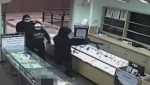Armed jewelry heist caught on camera