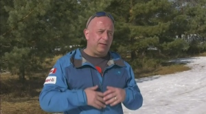 Heart attack survivor training for Everest