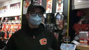 Javier Ramos is a Calgary Flames who would love the opportunity to return to watch games. U.S.-based NHL teams are allowing some fans back to games, but there's no word on when Canadian teams might be allowed to bring fans back.