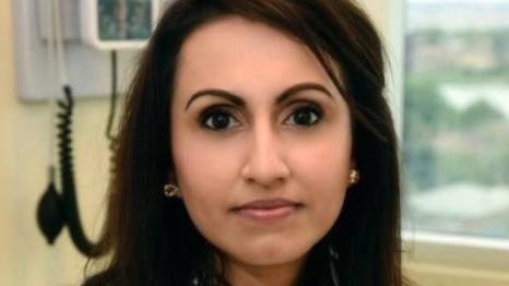 Dr. Kulvinder Kaur Gill is seen in this undated photo. (Twitter / @dockaurG)