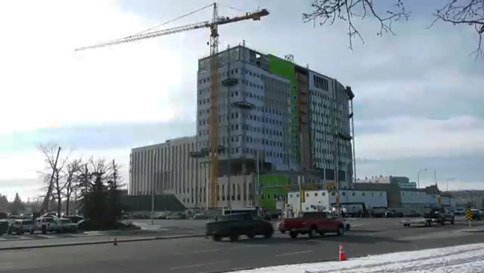After health minister Tyler Shandro announced $143 million in five new health capital projects, critics asked why the province has money to spend on capital projects at a time when they're laying off frontline workers