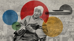 At 118 years old Kane Tanaka, the world's oldest living person, is preparing to carry the Olympic torch this May in Japan. (CNN)
